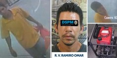 Relacionada detneido robo bomberos