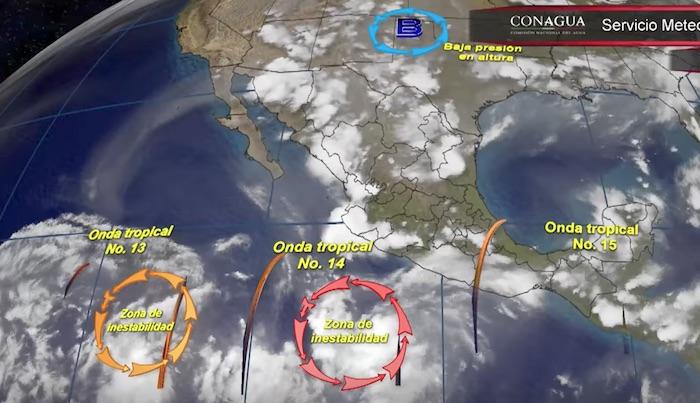 Pronostican fuertes lluvias para este sábado en Michoacán