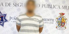 Relacionada polici as municipales detienen a sujeto acusado de golpear a su esposa