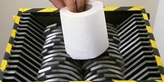 Relacionada tirtura papel higienico viral