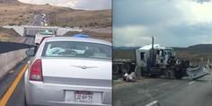 Relacionada choque trailer carretera cuauhtemoc
