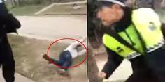 Relacionada policia golpea a ebrio