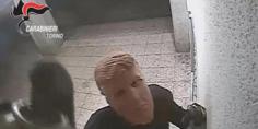 Relacionada las imagenes de los ladrones fueron difundidas por la policia italiana  1