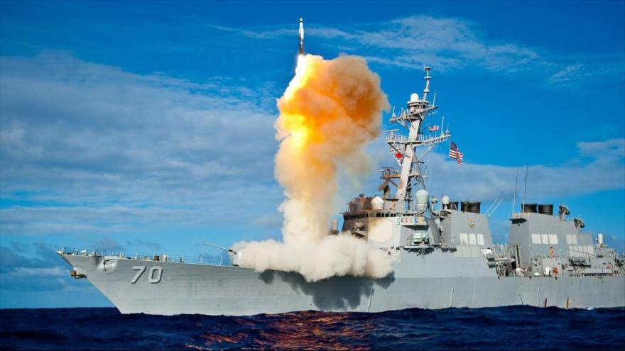 Trump lanzó un misil intercontinental