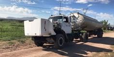 Relacionada camion robo gasolina