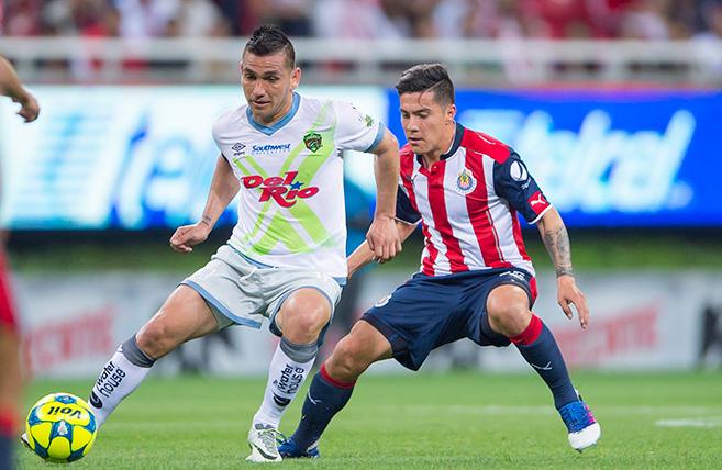 Chivas visitara  a bravos el pro ximo 9 de agosto en la copa corona mx