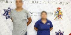Relacionada agentes municipales detienen a un hombre y una mujer por el homicidio de un masculino en la colonia riveras del bravo durante la madrugada de hoy 1