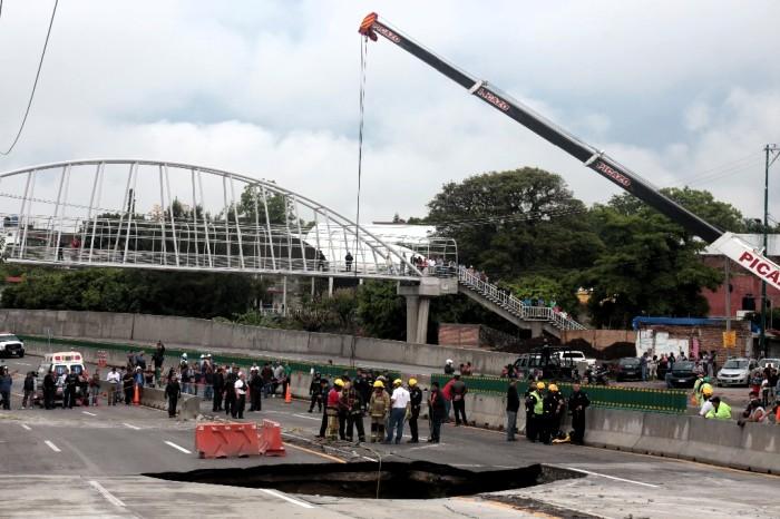 Autoridades pactan nuevas acciones por Paso Exprés — MÉXICO
