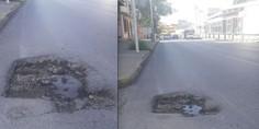 Relacionada bache peligroso avenida ocampo