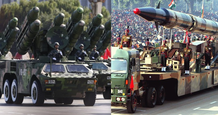 China amenaza de guerra a India, ¡una potencia nuclear!