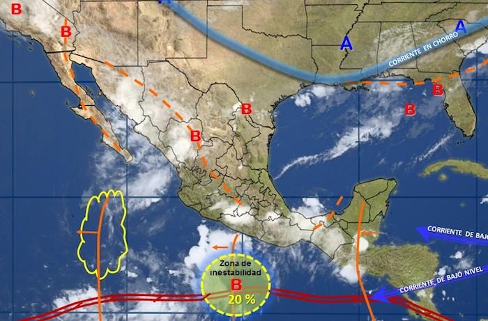 Se advierten tormentas intensas en diversas regiones de Chiapas