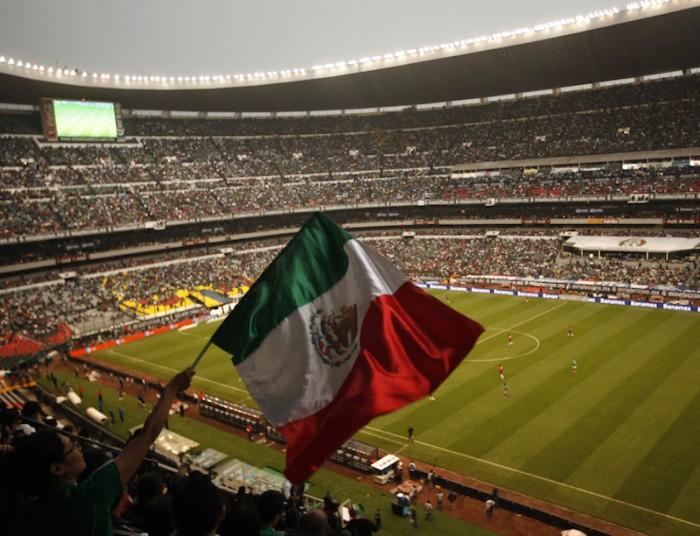 Estos son los estadios propuestos por m xico para el for Puerta 1 estadio azteca