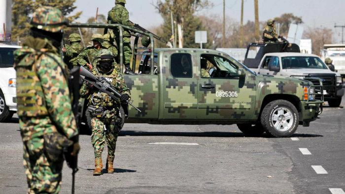 Hallan campamento de adiestramiento del narco en Matamoros