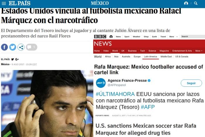 Femexfut espera que Rafa Márquez aclare pronto situación legal