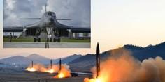 Relacionada b 1b atacar a misiles corea del norte guam