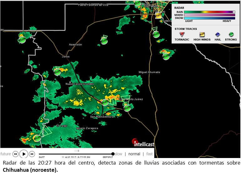 L Clima Chihuahua Alertan por fuertes to...