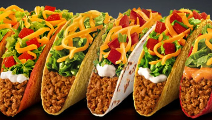 Tacos taco bell