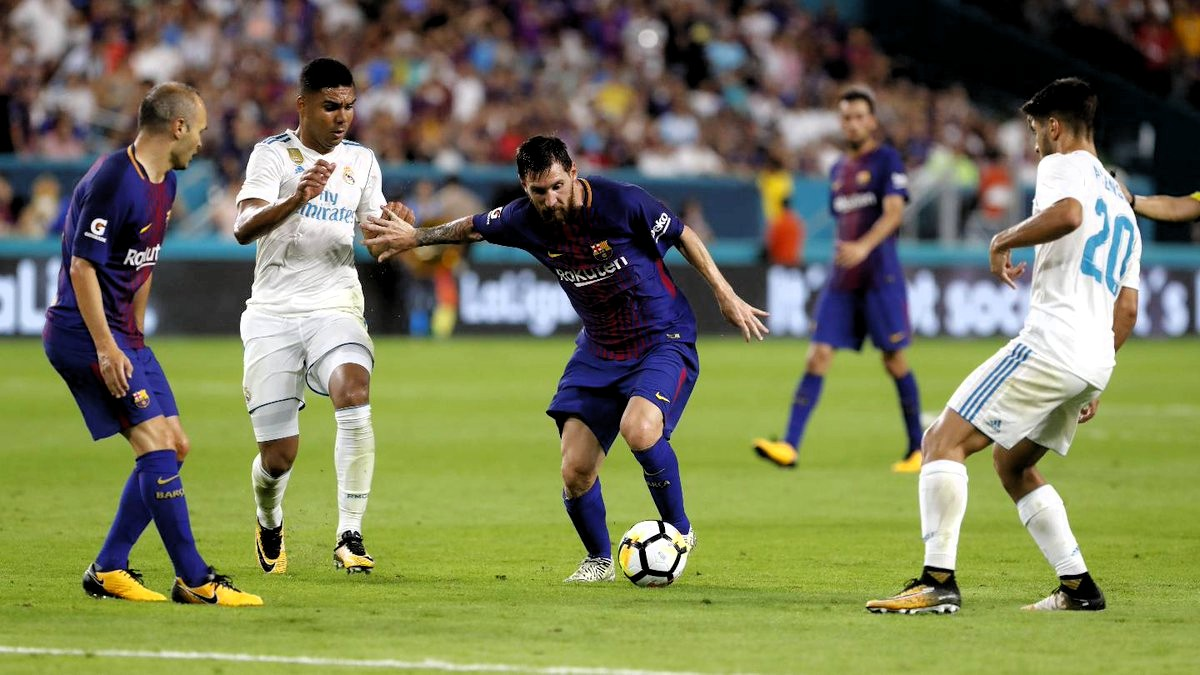 Real Madrid le ganó al Barcelona en el Camp Nou