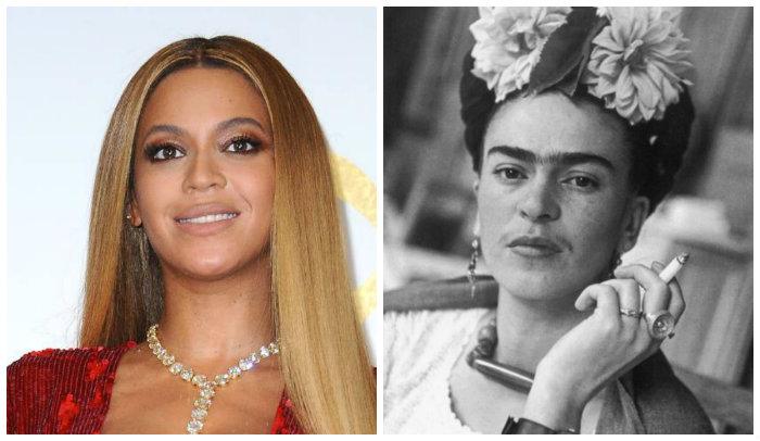 Google confundio  a beyonce  con frida kahlo