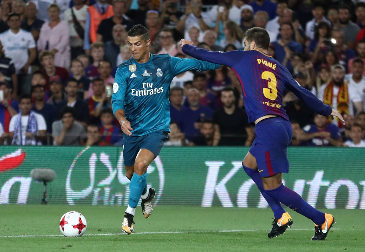 Real madrid vs fc barcelona hora y d nde verlo tiempo for Hora del partido del real madrid