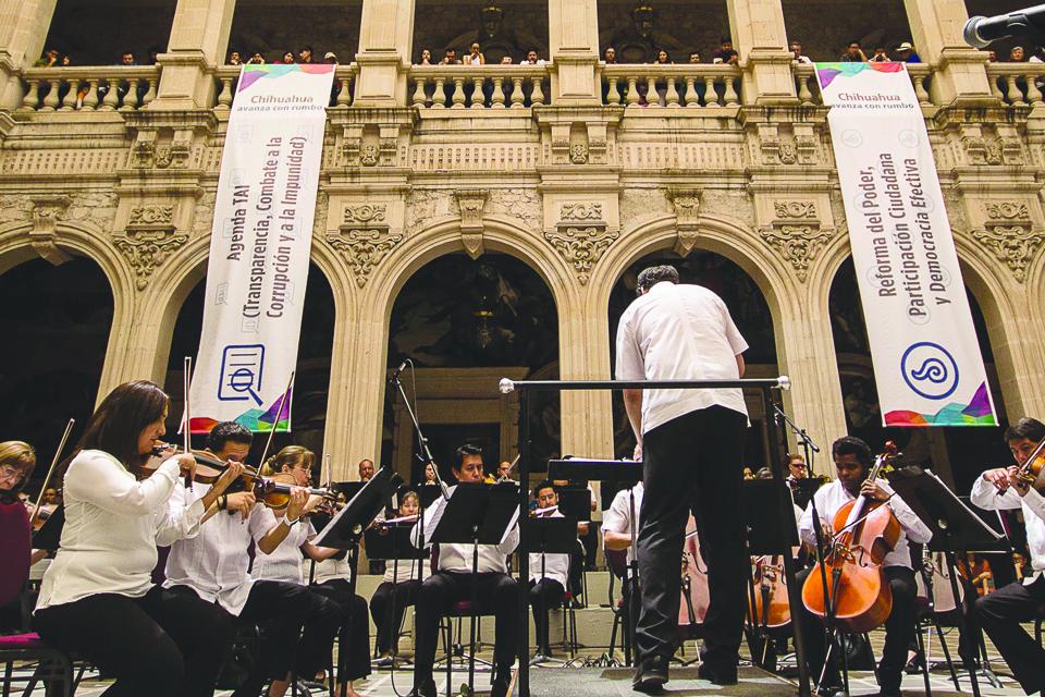 Orquesta palacio de gobierno chihuahua