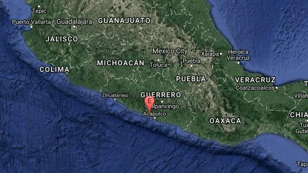 Se registra sismo de 5.3 grados en Guerrero