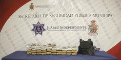 Relacionada la polici a municipal da golpe al narcotra fico al asegurar 47 paquetes de marihuana  detienen a sujeto 1