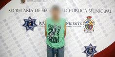 Relacionada aseguran agentes municipales dos libras de marihuana y detienen a presunto narcomenudista  1