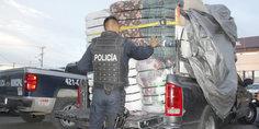 Relacionada agentes municipales aseguran 6 mil do lares en mercanci a de ropa proveniente de los estados unidos  hay detenido