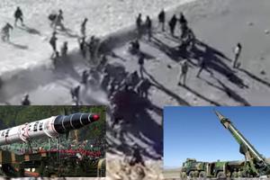 Slider pelea soldados india china