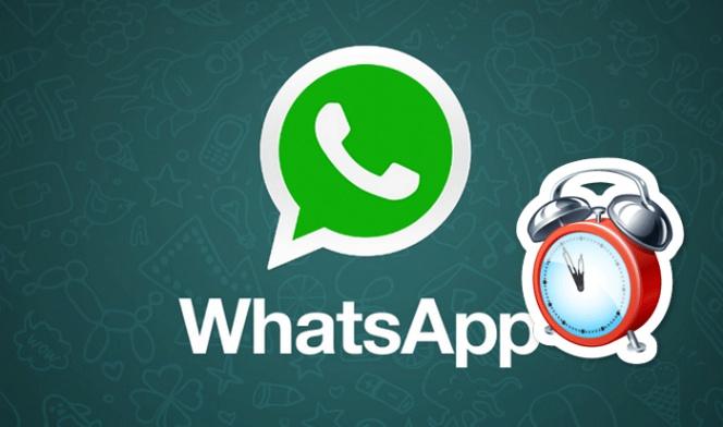 Así se programa el envío de mensajes en WhatsApp