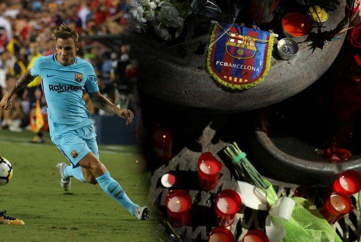 Jugador del Barcelona ayudó a víctimas del atentado en Las Ramblas