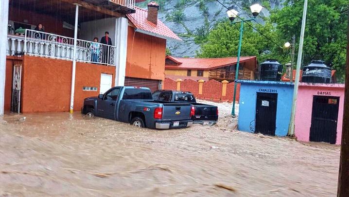 Deja cuatro desaparecidos tormenta en Guadalupe y Calvo