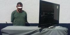 Relacionada elementos de la comisio n estatal de seguridad detuvieron a sexagenario por robar aparatos electro nicos