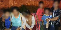 Relacionada agentes municipales resguardan y brindan apoyo a seis personas originarias de guatemala que intentaban cruzar a los estados unidos