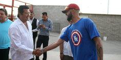 Relacionada exhorta presidente municipal a jugadores de indios de jua rez a realizar su ma ximo esfuerzo para ganar campeonato