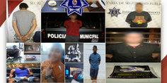 Relacionada polici as municipales en diferentes intervenciones detienen a nueve presuntos narcomenudistas