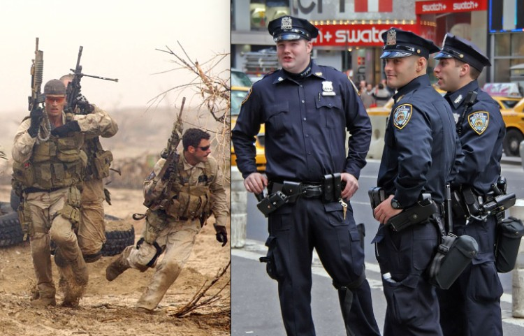 Revoca Trump disposición emitida por Obama y militariza a cuerpos policíacos