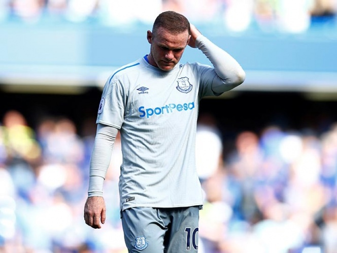 Wayne Rooney fue detenio por conducir alcoholizado