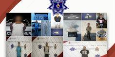 Relacionada polici as municipales en diferentes intervenciones detienen a ocho presuntos narcomenudistas