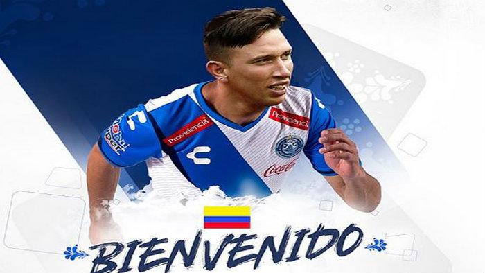 El colombiano Jhon Steven ficha con el Puebla del fútbol mexicano — VENEZUELA