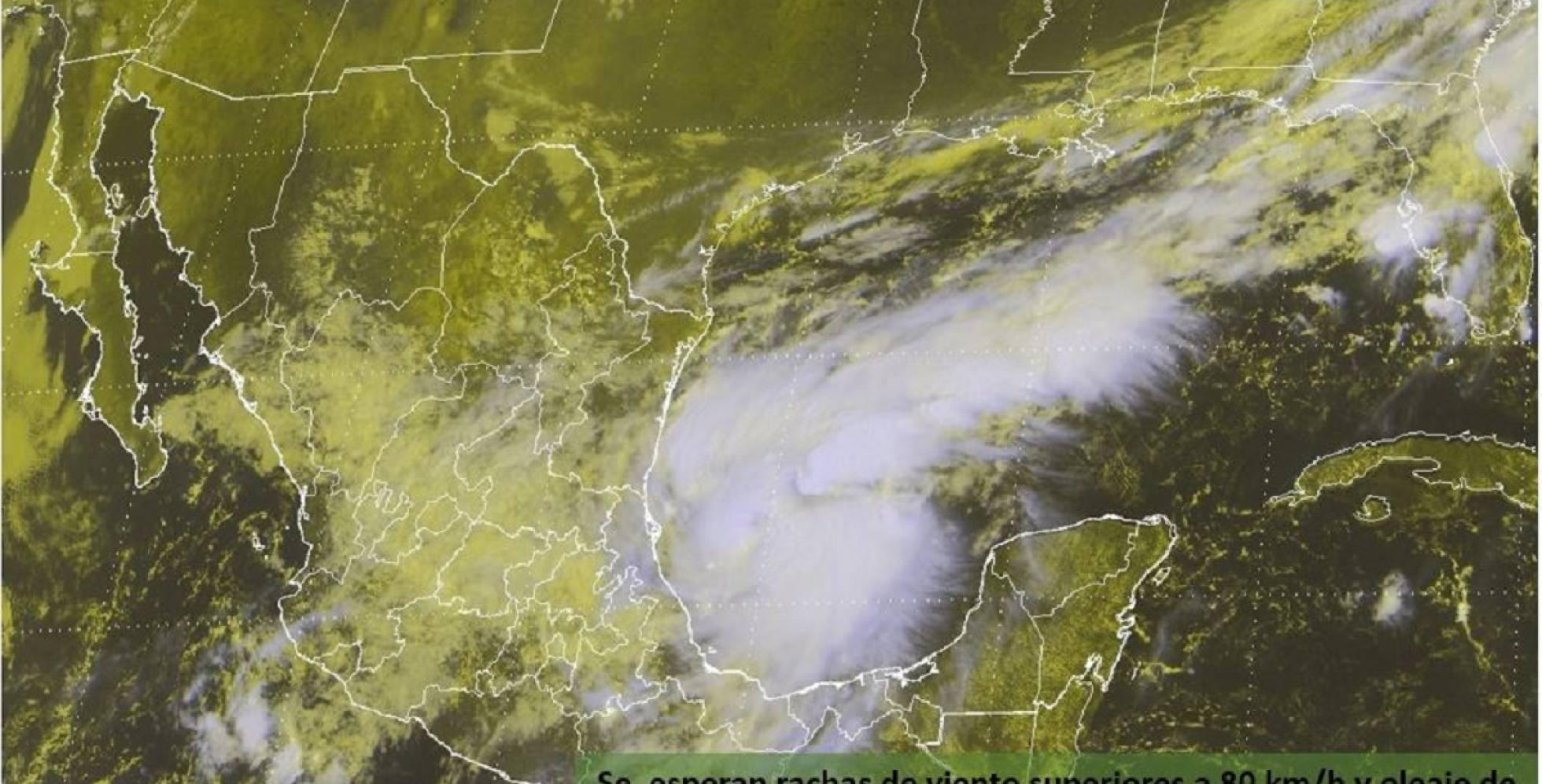 Veracruz se mantiene en alerta por huracán Katia; establecen zona de vigilancia
