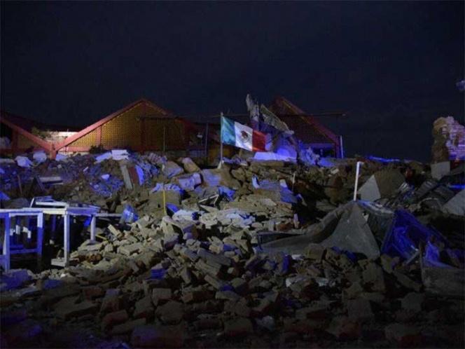 MÉXICO: Sismológico registra más de mil réplicas por sismo de 8.2 grados