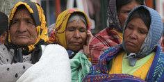 Relacionada marcha por la dignidad de tarahumaras