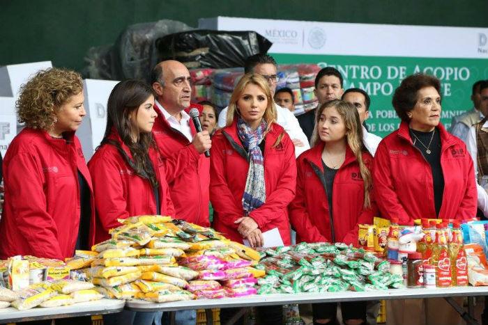 El DIF envió tres mil despensas para Oaxaca, Chiapas y Tabasco