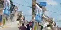 Relacionada edificio derrumbe sismo
