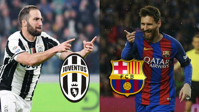 Barcelona goleó a Juventus