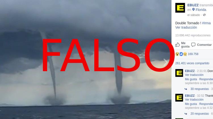 Irma falsos tornados