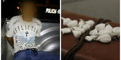 Relacionada agentes municipales detienen a presunto distribuidor de cristal  teni a en su poder 16 dosis
