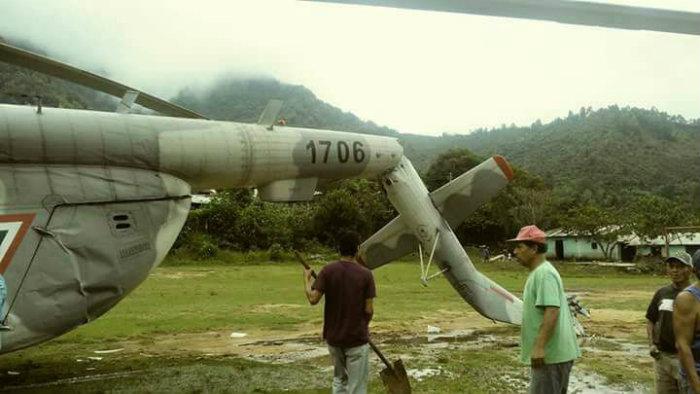 Se desploma helicóptero en Chiapas